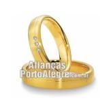 Aliança em ouro amarelo...