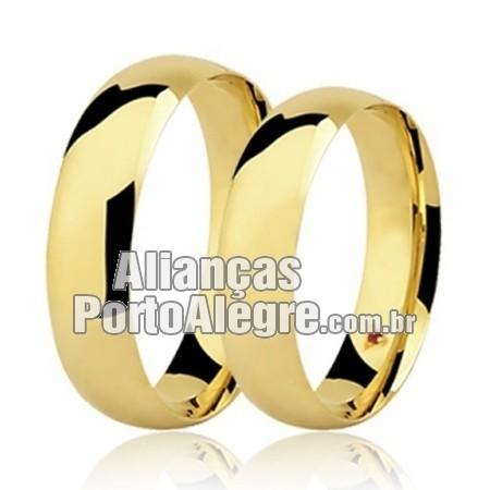 Aliança de casamento e noivado Porto Alegre