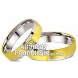 Aliancas  de noivado e casamento...