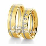 Aliança de noivado Rs