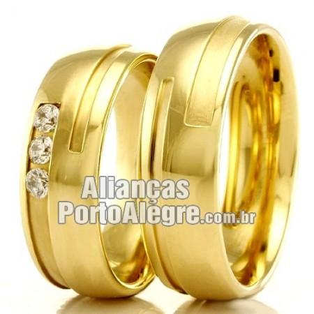 Alianças Porto Alegre para casamento e noivado