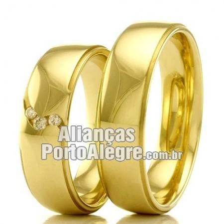 Alianças Porto Alegre  de casamento e noivado